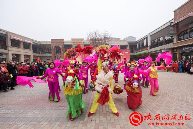 """2月6日""""贺新春.扭秧歌大赛""""在高新区万达广场精彩举行"""