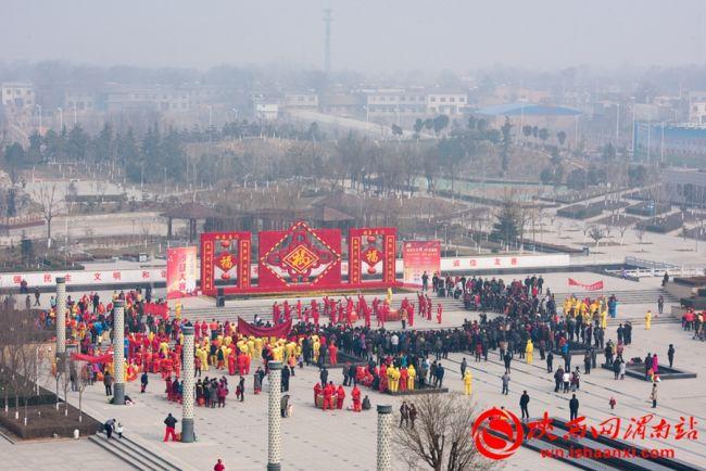 """_2月4日""""魅力高新""""锣鼓大赛在高新区时代广场举行"""