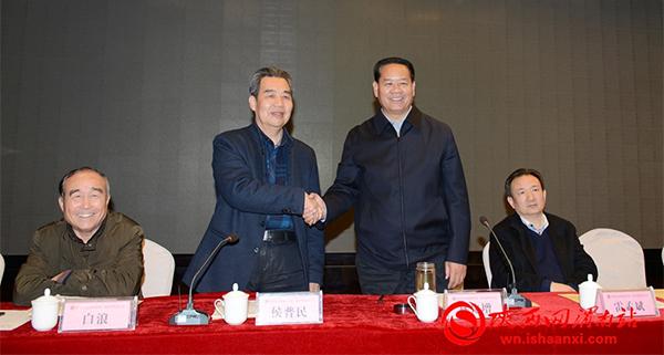 渭南市文化促进会第二届会员代表大会召开 侯普民当选会长(高清组图)